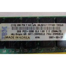 IBM 39M5811 39M5812 2Gb (2048Mb) DDR2 ECC Reg memory (Казань)