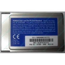 Сетевая карта 3COM Etherlink III 3C589D-TP (PCMCIA) без LAN кабеля (без хвоста) - Казань